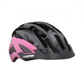 LAZER Casco Petit DLX Black/Pink