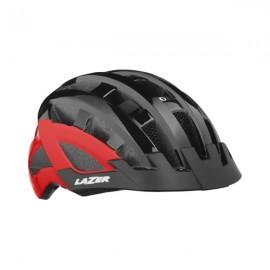 LAZER Casco Petit DLX Black/Red