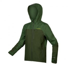 ENDURA SingleTrack Waterproof Jacket Verde Foresta Endura E9147GF
