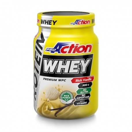 ProAction Whey Protein Rich Vanille 900gr ProAction PA0101102