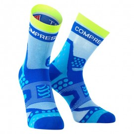 Compressport V2.1 Run Ultralight Light Blue Calzino Compression Compressport SKU-2322