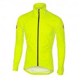 CASTELLI Emergency Rain Jacket Yellow Fluo