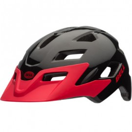 BELL Casco Sidetrack Youth Black Red Echo