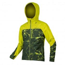 ENDURA SingleTrack Waterproof Jacket Verde Acido Endura E9147LG
