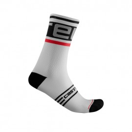 CASTELLI Calza Prologo 15 Sock Black/White