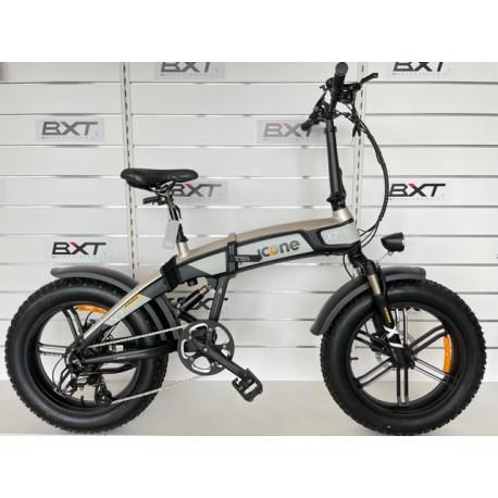 ICONE E-Bike iCROSS-X7 Blackned SIlver ICONE INEICROSSX7BS