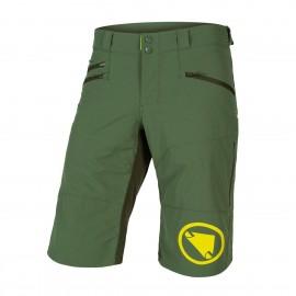 ENDURA Pantalone Corto SingleTrack II Verde Foresta Endura E8102GF