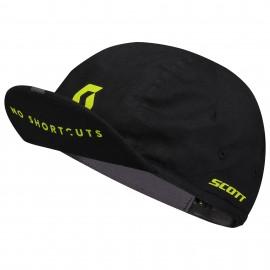 SCOTT Cappellino No Shortcut Black/Sulphur Yellow Scott 276190