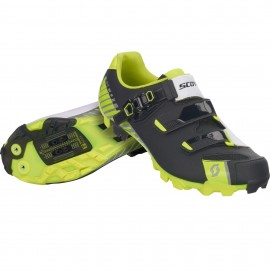SCOTT MTB Pro Shoe matt black/gloss yellow