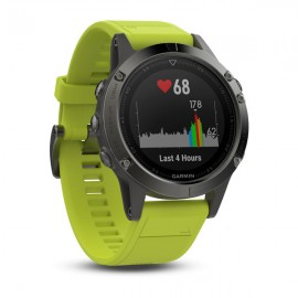 GARMIN Fenix 5 47mm Grey-Yellow