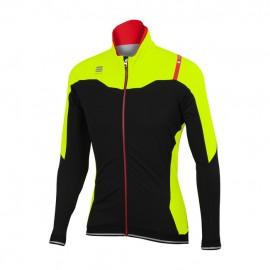 SPORTFUL Fiandre Norain Jacket Black/Yellow Fluo