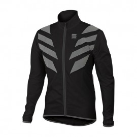 Sportful Reflex Jacket Nero Mantellina Antipioggia/Antivento Sportful 1101635-002