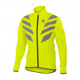 Sportful Reflex Jacket Giallo Fluo Mantellina Antipioggia/Antivento Sportful 1101635-091