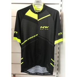 Northwave Blade Jersey Black/Yellow Fluo Maglia Estiva