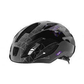LIV LANZA Black/Purple Casco Bici Donna LIV 800001132