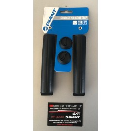 GIANT CONTACT SILICONE GRIP BLACK Coppia Manopole MTB Giant 190000073-BLACK
