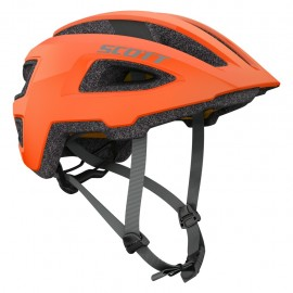 Scott Groove Plus Orange Flash Casco Bici