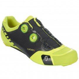 SCOTT Shoes Road RC SL Black/Neon Yellow