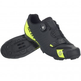 SCOTT MTB Comp Boa Shoe black/sulphur yellow