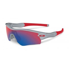 OAKLEY Radar Path Polished Fog w/red Iridium