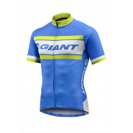GIANT - Rival SS Jersey Cyan Blue/Yellow