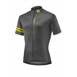 GIANT - Podium SS Jersey Black/Yellow