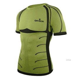 OXYBURN Maglia Intima Forty-Two Lime Oxyburn 5055-lime