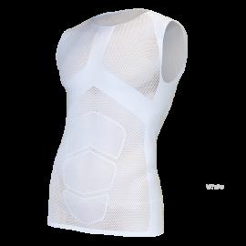 OXYBURN B-Easy White Maglia intima s/maniche Oxyburn 5080B-Easy-white