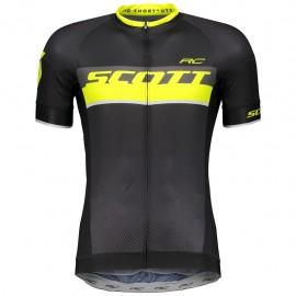Scott Maglia RC Pro s/sl Black/Sulphur Yellow