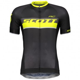 Scott Maglia RC Pro s/sl Black/Sulphur Yellow