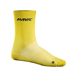 Mavic Cosmic High Sock Yellow