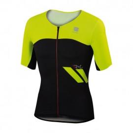 Sportful R&D Cima Jersey Giallo Fluo/Nero
