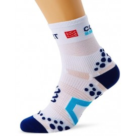 Compressport V2.1 Run White/Blue Calzino Compression Compressport SKU-2322