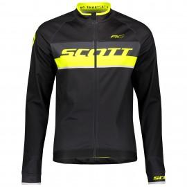 SCOTT Jacket RC AS black/sulphur yellow
