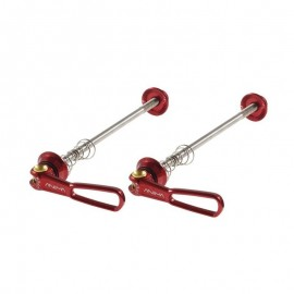 ANIMA Coppia Bloccaggi titanio/ergal Rosso ANIMA BL36TR