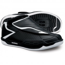 SHIMANO Scarpe MTB Enduro/DH AM45 Black/White