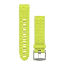 GARMIN Cinturino Quickfit 20 Silicone AMP Yellow
