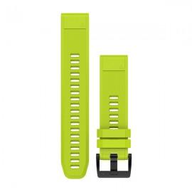 GARMIN Cinturino Quickfit 22 Silicone AMP Yellow