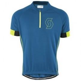 SCOTT Maglia Endurance 40 Blue/Green