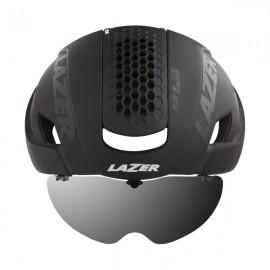 LAZER Casco Bullet 2.0 Matte Black +Lens+Led