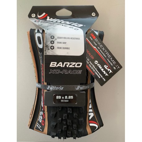 VITTORIA Barzo 29x2.25 XC-Race Transp/Blk Grafene 2.0 Vittoria 11A.00.015