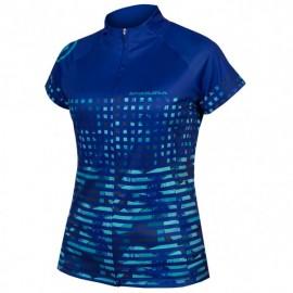 ENDURA Maglia Estiva Womans Hummvee Ray S/S Azzurro cobalto