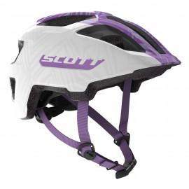 SCOTT Casco Spunto Junior White/Purple