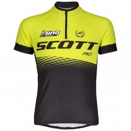 SCOTT Maglia Junior RC Pro Black/Sulphur Yellow