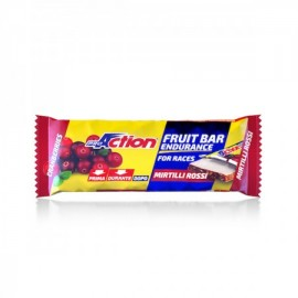 ProAction Fruit Bar Gusto Mirtillo Rosso