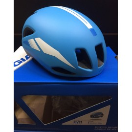 GIANT Casco Rivet Cyan Blue