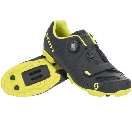 quality design f80ee 387c1 SCOTT Scarpa MTB Comp Boa Black/Sulphur Yellow
